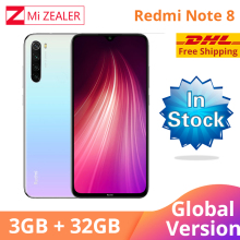 Global Version  Xiaomi Redmi Note 8 3GB RAM 32GB ROM Octa Core Smartphone Snapdragon 665 48MP 6.3 Screen Fast Charger Cellphone gigaset me pro 3gb 32gb smartphone black
