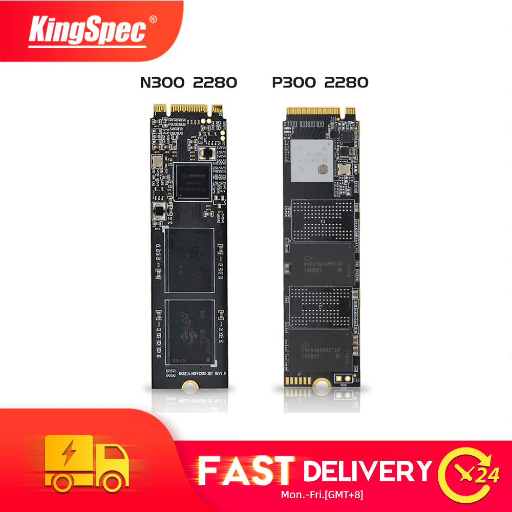 KingSpec M.2 2280 SATA NGFF&NVMe PCIe SSD 1TB 2TB 512GB 128GB 256GB Ssd M2 Ngff M.2 NVMe Internal Sdd For Laptop Desktop PC