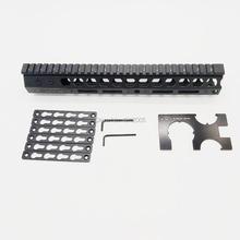 12 inch tactical ar15 .223 5.56 mlok keymod compatibele handguard Free Float Slim ar 15 Handguard Quad Rail steel Nut for M4 M16 цена