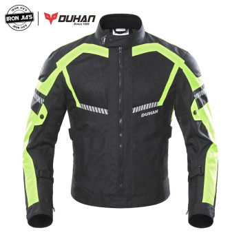 DUHAN Motorcycle Jacket Summer Men Moto Motocross Jacket Moto Protective Gear Breathable Mesh Reflective Motorcycle Clothing motorcycle jacket men summer moto protective gear jacket men racing reflective oxford clothing motorbike jackets