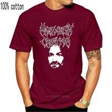 Нечестное творение. Рубашка Некролог Deicide болт Метатель Самосожжение смерти футболки с круглым вырезом Для мужчин
