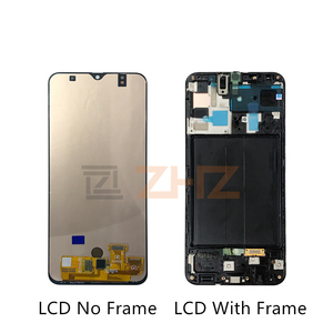 Image 2 - For Samsung Galaxy A50 lcd a505f SM A505FN/DS A505F/DS Touch Screen Digitizer Assembly +frame for samsung a50 lcd repair parts