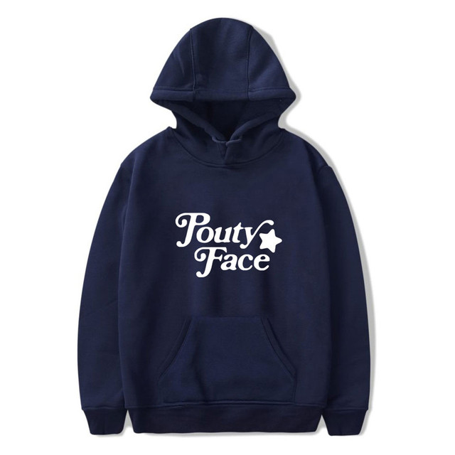 POUTY FACE ADDISON RAE THEMED HOODIE (28 VARIAN)