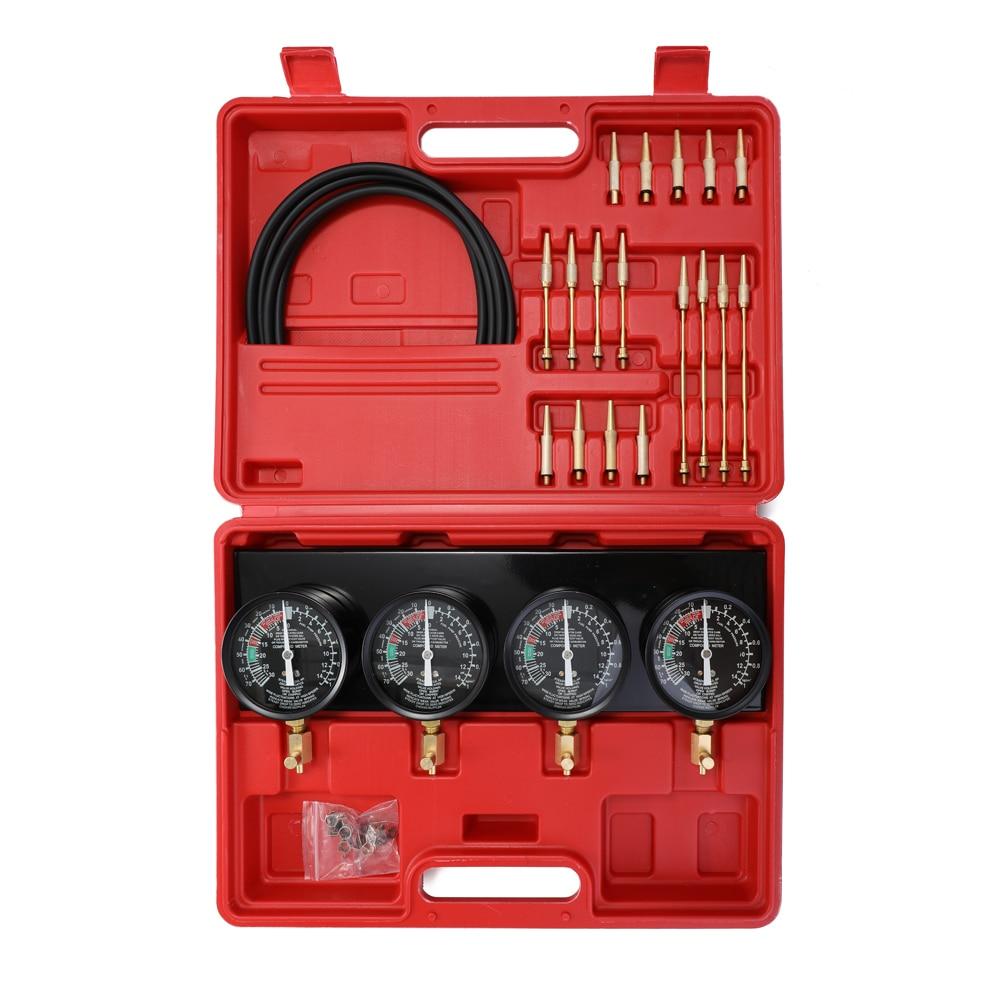 vácuo carburador sincronizador conjunto 4 calibres ferramenta