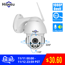 Hiseeu Ip-Camera Wifi Audio Speed-Dome CCTV Outdoor P2P Security Wireless Ptz Two-Way