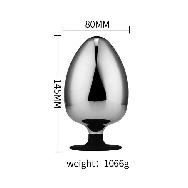Size Anal Plug XXXL suction cup