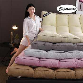 Chpermore Feather velvet Mattress Foldable Solid color Tatami Single double Mattresses Keep warm in winter King Queen Size - DISCOUNT ITEM  35 OFF Furniture