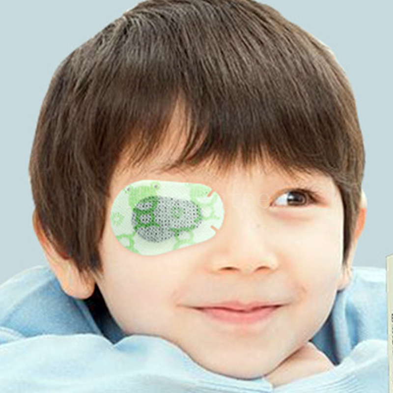 Close One Eye Medical Eye Patch For Children Occluders Self-adhesive Eye Patches Amblyopia Blindfold Eyepatch Correct Strabismus
