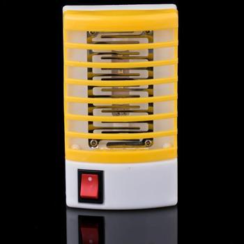 Ue usa 220V urządzenie przeciw komarom gniazdo ścienne środek odstraszający komary muchy robaki do zabijania owadów pułapka lampka nocna Zapper odstraszacz gryzoni użytku domowego tanie i dobre opinie oobest CN (pochodzenie) Z certyfikatem VDE 230 v Dropshipping Wholesale No smell 12 * 6 5 * 3cm