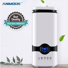 ANIMORE humidificateur dair ultrasonique, diffuseur dhuiles essentielles et darôme, 4l, brume fraîche, avec télécommande intelligente