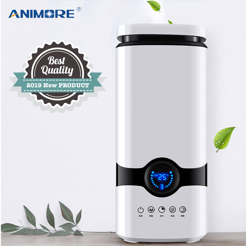 Humidificateur ANIMORE huile essentielle diffuseur d'arôme remplissage supérieur 4L brume fraîche humidificateur d'air à ultrasons avec télécommande intelligente