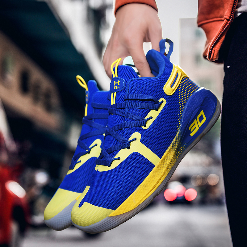 Newest Men Casual Shoes Athletic Curry 6 Sneakers AJ 1 Decoration Trend Trainers Ankle Boots Off Color White Basketball Shoes
