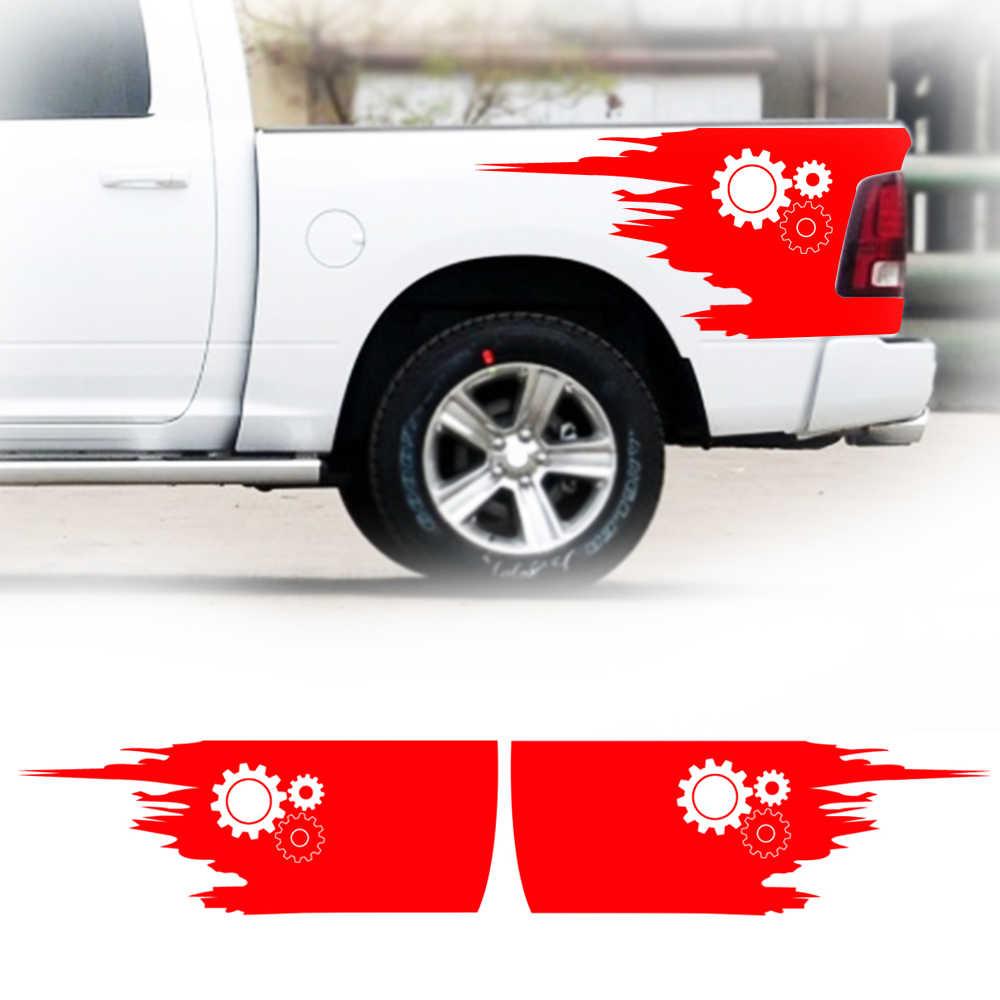 Автомобильная наклейка прикроватная емкость для грузовика Набор наклеек в