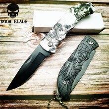 Couteaux de lame pour lextérieur ouvreur pliable, couteau de poche pliable pour lextérieur, paquet de poche pour survivre, Kit de boîte à outils Multi Gadget 160mm 5CR15MOV