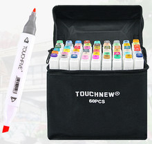 Touchfive Alcohol based Markers Sketch Markers Set For Drawing Manga Design Art Supplies Substitute Copic