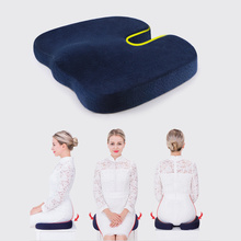 Creative Coccyx Seat Cushion U-shaped Caudal Vertebrae Protection Hemorrhoids Pad Asthmatic Memory Massage Tail Decompression