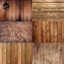 Wooden Board Texture Planks Background Video Studio Backdrop Cloth Photographic Props For Food Photo photography background(China)