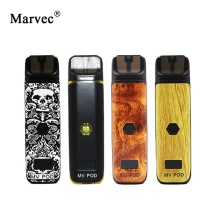 Original Marvec MV Pod Starter Kit with LED Screen 400mAh Adjustable Wattage Battery Mod 2ml Cartridge E Cigarett Vape Pen Vapor original marvec mv pod starter kit with led screen 400mah adjustable wattage battery mod 2ml cartridge e cigarett vape pen vapor