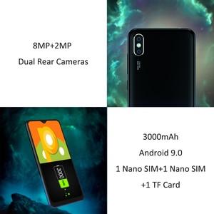 Image 2 - Leagoo M12 אנדרואיד 9 MT6739ww Quad Core 2GB RAM 16GB ROM 5.7 אינץ IPS 3000mAh 5V /1A מטען מהיר פנים מזהה mobilephone