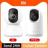 Xiaomi Mijia IP Camera 2K PTZ Pro 360 Angle Baby Monitor CCTV WiFi Video Webcam visione notturna Wireless MI telecamere di sicurezza domestica