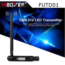 Miboxer FUTD01 DMX 512 светодиодный передатчик 2,4G Беспроводной приемник адаптер для дискотеки светодиодный сценический эффект света RGB + CCT светодиод...