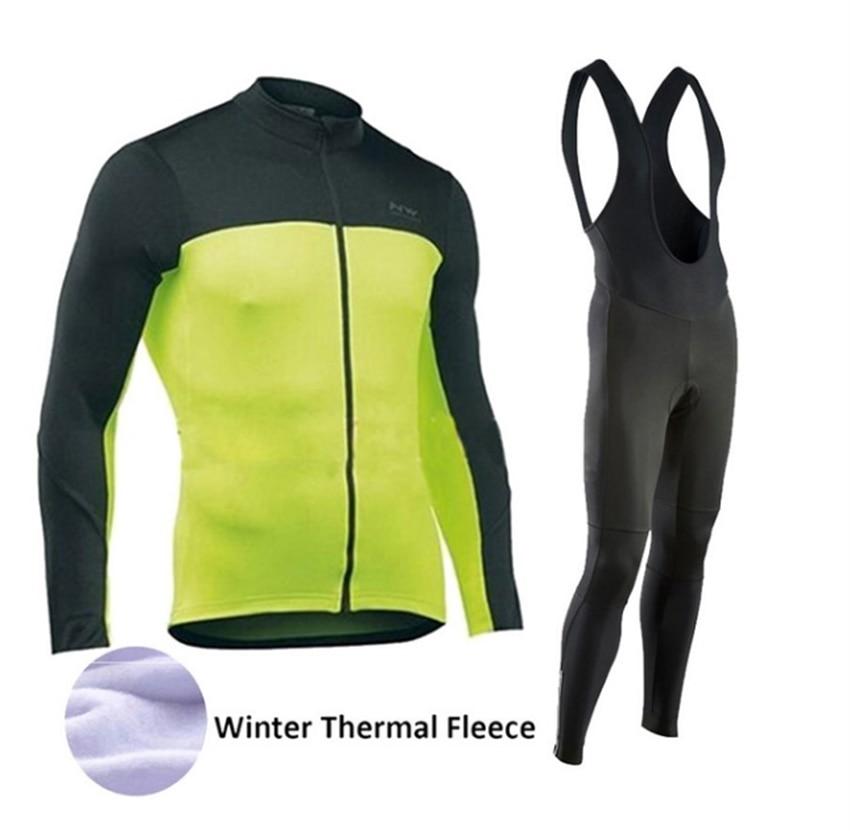 Men/'s Bike Clothing Long Sleeve Cycling Jersey Cycle Long Bib Tights Pants Kit