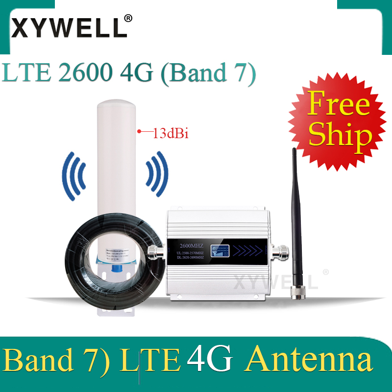 2600mhz Repeater 4g Gsm Repeater FDD LTE 2600mhz Band7 GSM Mobile Signal Repeater 4G LTE 2600 Network Cellular Signal Amplifier