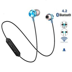 Bluetooth Earphone Sport-Headset Auriculares Magnetic Xiaomi Attraction Samsung