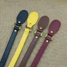 Сменная плоская ручка из искусственной кожи с ремнем для женщин, корзина, ведро, городской стиль, женская сумка, одноцветная сумка, ремень, аксессуары