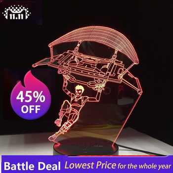 Game 3D LED Lamp 7 Colors Touch Switch Table Desk Light Lava Lamp Acrylic Illusion Room Atmosphere Lighting Fans Gift All Skins - DISCOUNT ITEM  42% OFF All Category