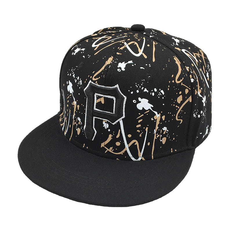 2020 P Letter Embroidered Snapback Cap Men Fashion Cotton Hat Adjusted Outdoor Sport Leisure Hats Hip Hop Graffiti Baseball Caps