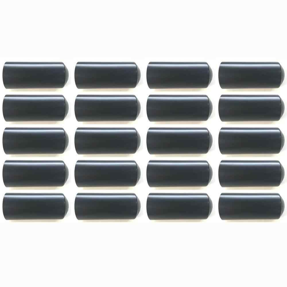 20 個新ワイヤレスマイクカバーバッテリーネジキャップカップバックカバー Shure の PGX24 SLX24 SM58 BETA58 ハンドヘルド