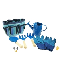 Gardening-Tool-Set Carry-Bag Children Shovel Watering And Kids for Includes Can-Gloves