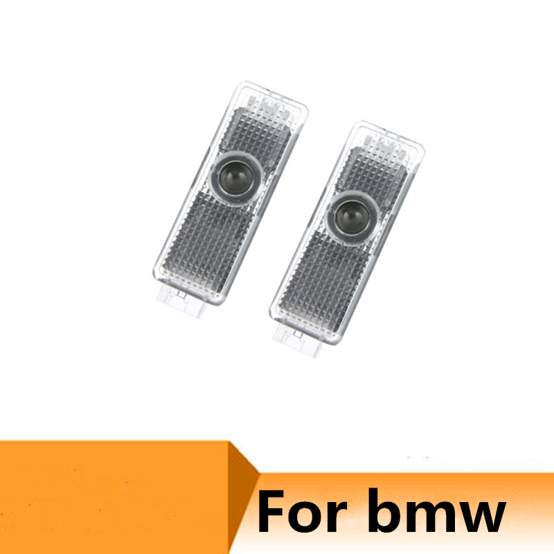 2pc Led Car Door Light Projector <font><b>Logo</b></font> Welcome Light for <font><b>BMW</b></font> 3 5 7 Series E60 E61 F01 <font><b>E92</b></font> <font><b>M3</b></font> E68 E90 F10 F30 E60 M5 X1 X3 X4 X5 image