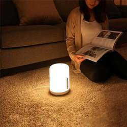 MJCTD02YL Kleurrijke Bed Licht Tafellamp 2 Bluetooth Wifi Touch App Controle Homekit Siri Night Desk Led Verlichting