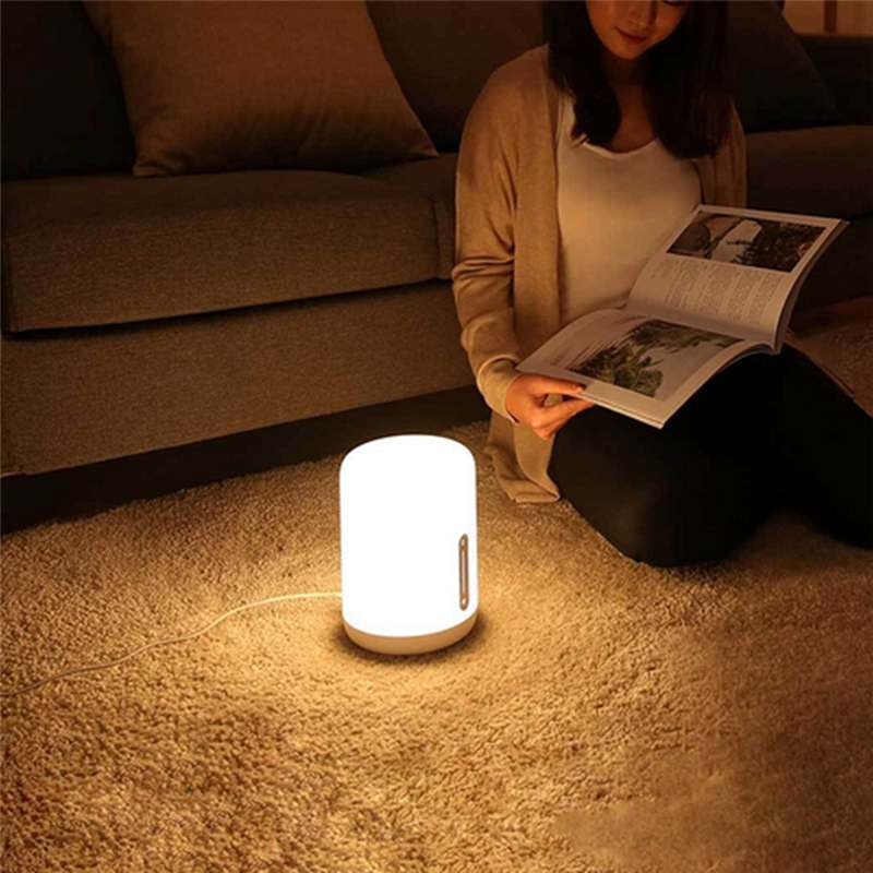 Xiaomi Mijia MJCTD02YL Colorful Bedside Light Table Lamp 2 Bluetooth WiFi Touch APP Control HomeKit Siri Night Desk LED Lights