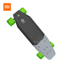 Xiaomi Acton Smart Electric Skateboard Remote Kontrol Nirkabel 3 Kecepatan Advance 500W Lampu LED Daya Group 1 Jam pengisian(China)