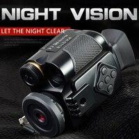 SAGA Mini Digital Infrared night vision Monocular Scope 5 zoom visor imager for Hunting Camping Outdoor Hunter telescope