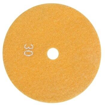цена на 5 inch 125mm Wet Diamond Polishing Pads Marble Granite Grits