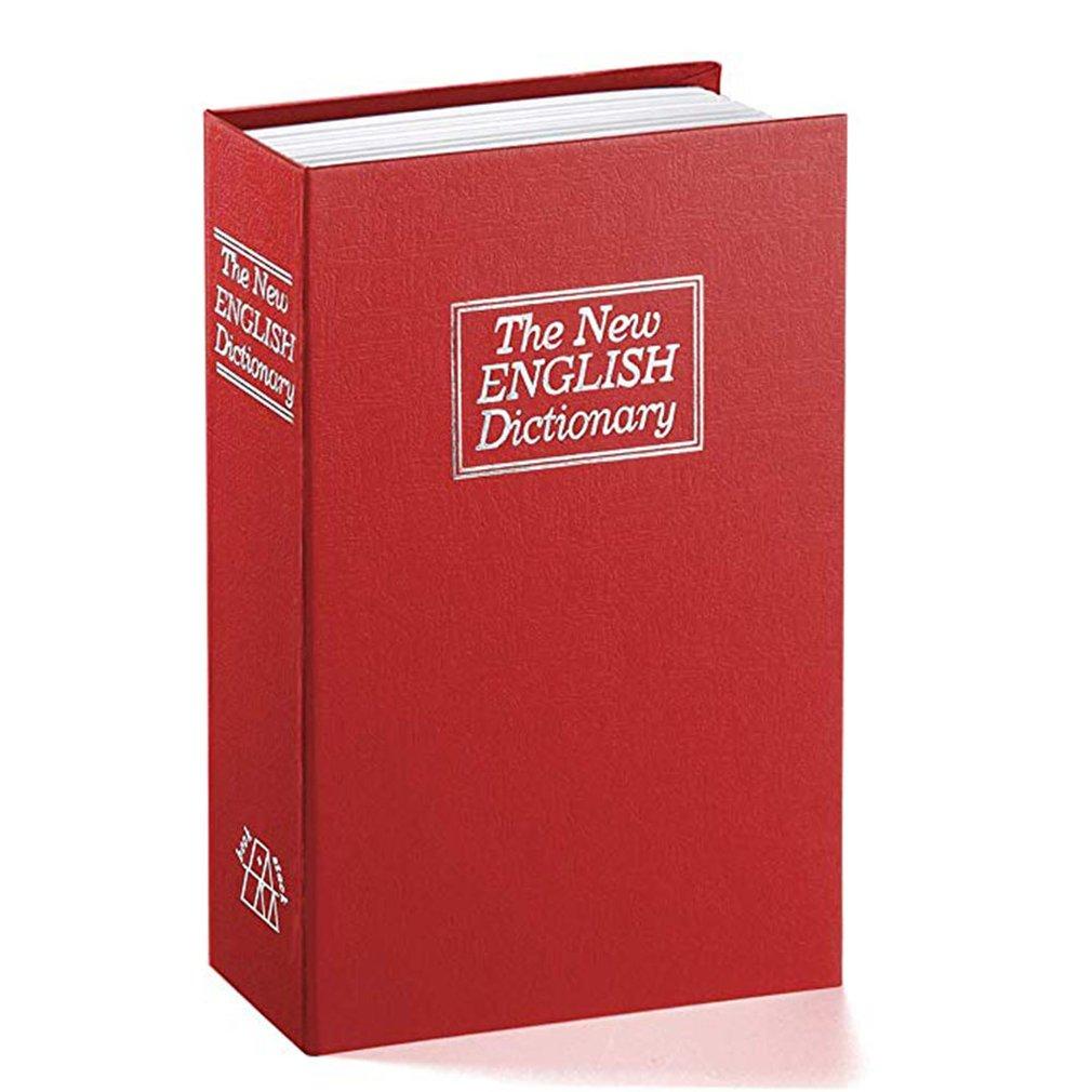 Creative Change Box Dictionary Book Insurance Box European Creative Simulation Book Safe Mini Storage Tank