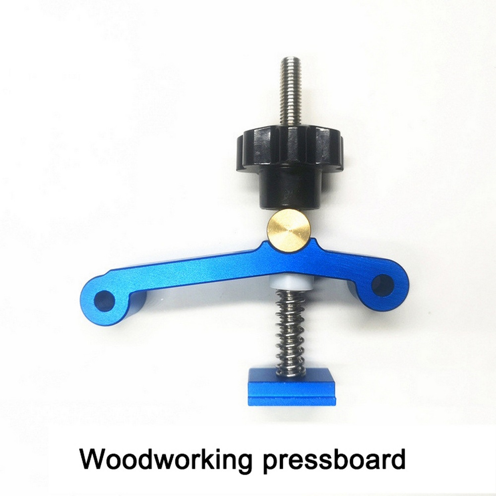 Updated T Track Stop Wood Clamp Woodworking T Slot Block Clamp Carpentry Pressboard Clamp Kit Hardware Tool For T Track