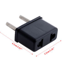 Адаптер зарядное устройство 85wd 10 шт США в Европейский штекер