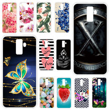 TAOYUNXI For Leagoo M9 case Silicon Soft TPU Case For Leagoo M9 M 9 Cover Painting Shield Bat Tower Patterned Man Covers(China)