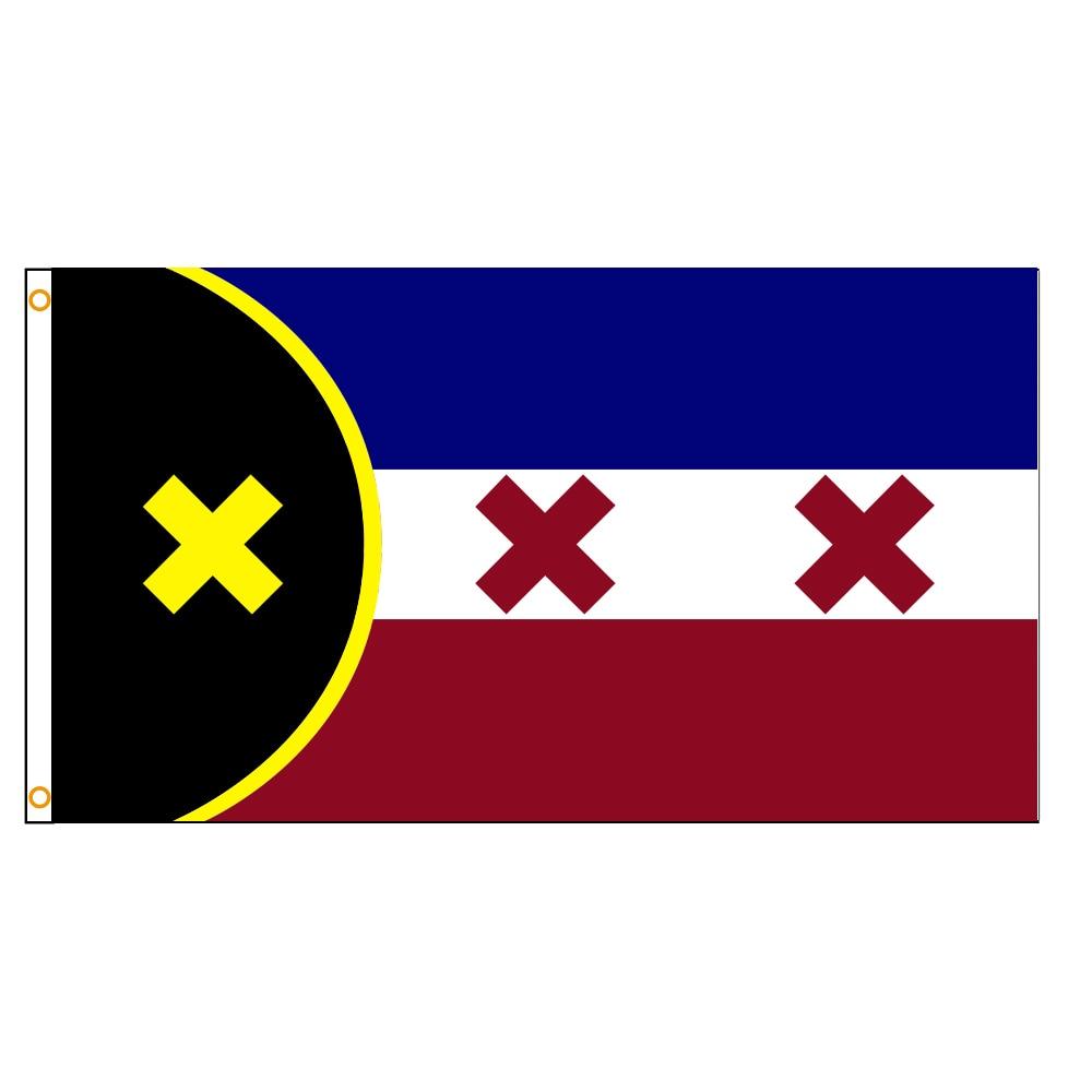 Флаг манберга L ANJOR 90x150 см
