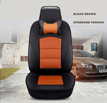 custom car seat cover leather for Land Rover Discovery 3 4 5 Sports Evoque FreeLander 2 Range Rover Sport velar car accessories