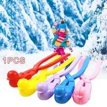 Мультфильм утка в форме снежок сделать клип открытый зимний снег Песок Плесень инструмент Снежный шар Производитель клип уличная игрушка для детей