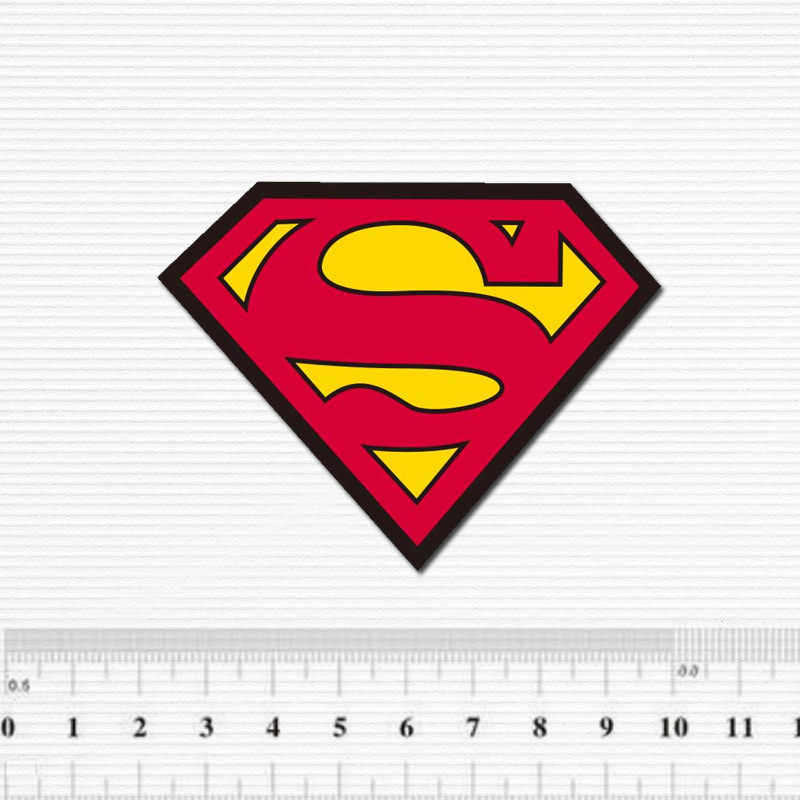 Cartoon Superman Logo Waterdichte Sticker Voor Bagage Auto Gitaar Skateboard Telefoon Laptop Fiets Kids Stickers