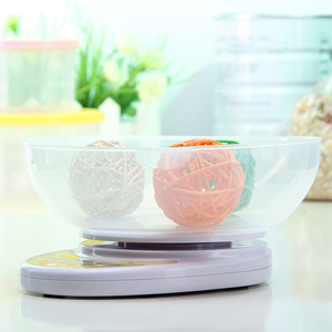 Image 3 - 5kg/1g Portable Digital Kitchen Scale,LED Electronic Food Diet Measuring Weight,Battery Operated Mini Cooking Balance