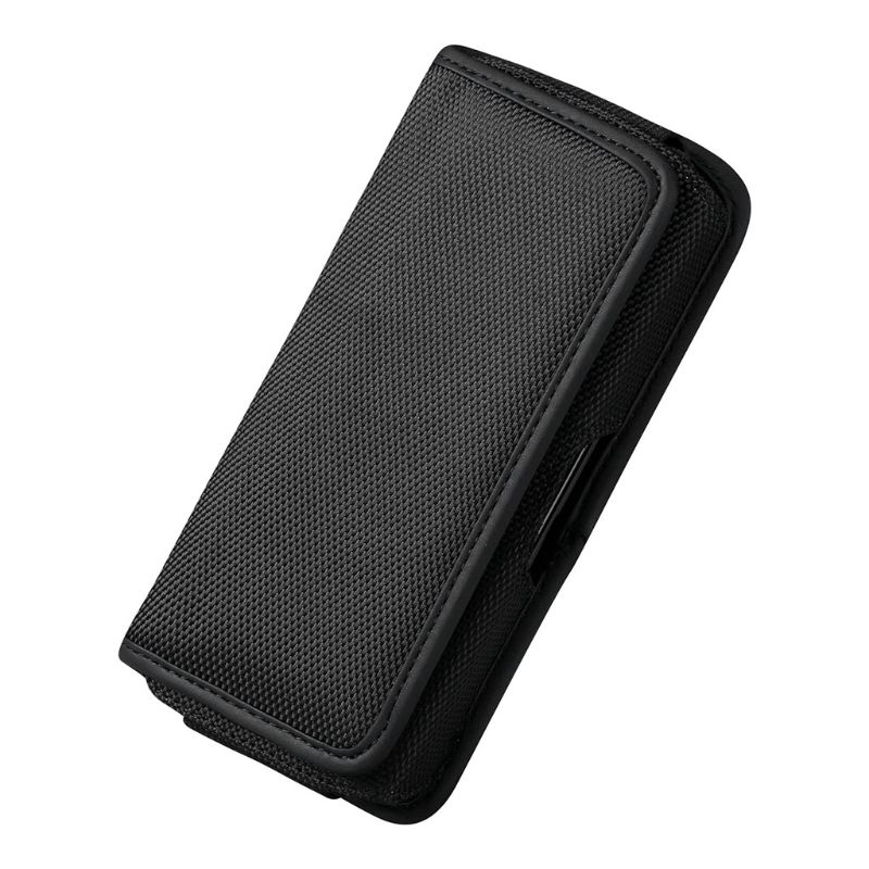 Horizontal Nylon Belt Loops Cellphone Holster Holder Carrying Case Sleeve Pouch For Men