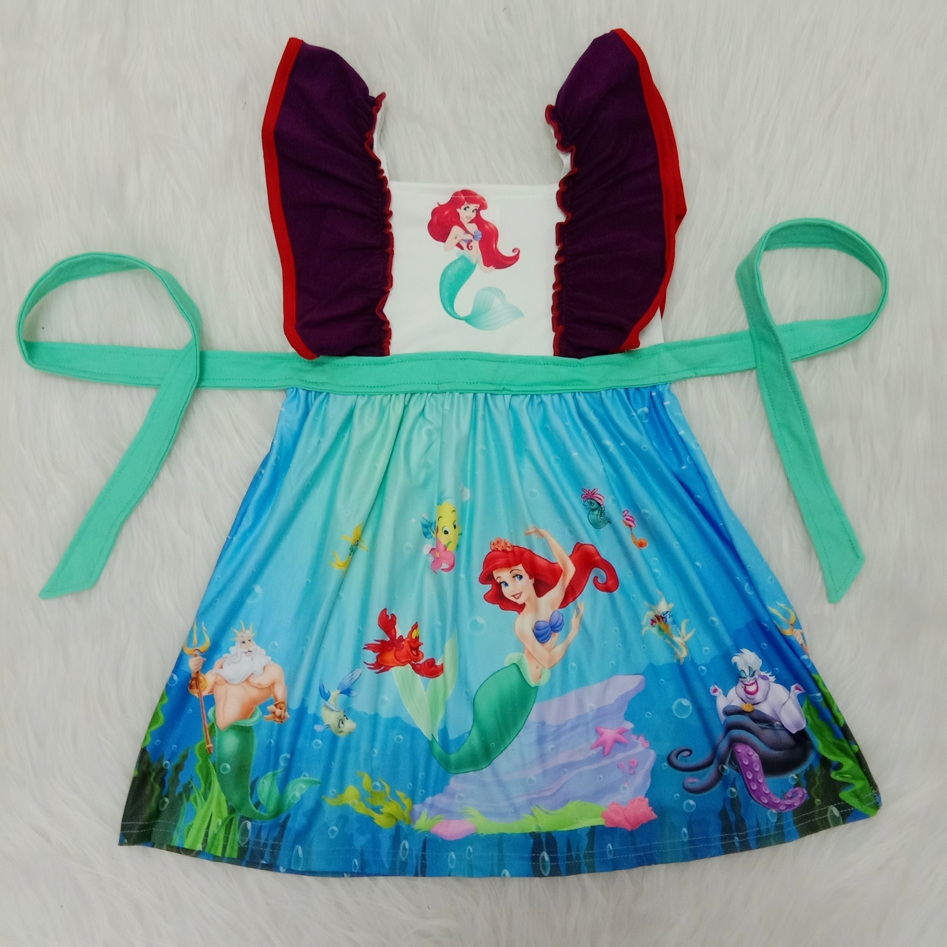 exquisite style best sneakers official supplier Good Quality Girls Dresses Summer Mermaid Dress Princess Birthday ...